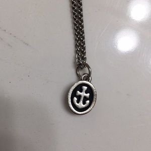 James Avery Anchor Charm & Chain